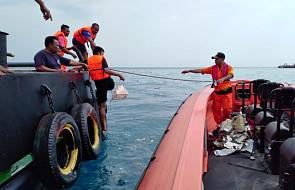 Samolot ze 189 osobami spadł do morza - najpewniej nikt nie przeżył