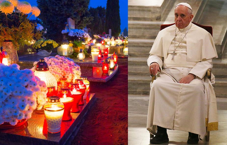Franciszek o tym, jak budować relację ze zmarłymi