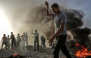 Izrael: kolejny Palestyńczyk zginął w protestach w Strefie Gazy