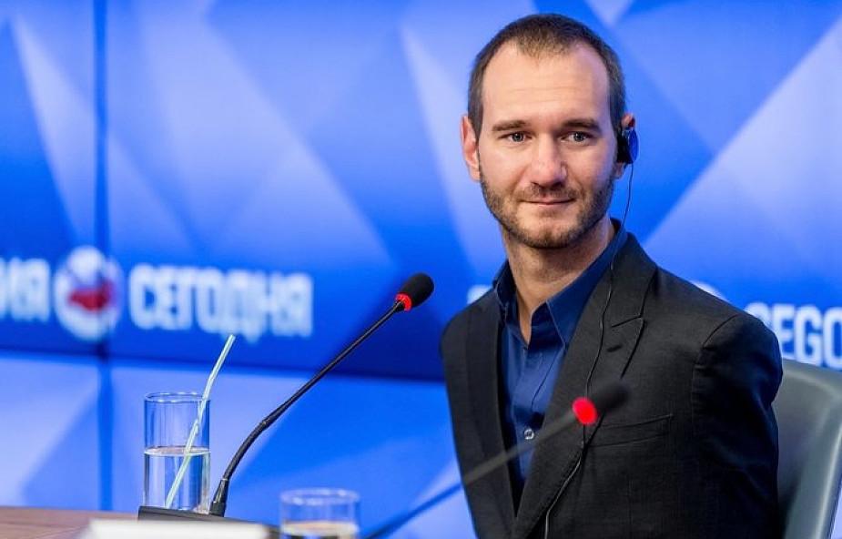 Nick Vujicic odwiedził Polskę. Zdradził 3 praktyczne sposoby walki z depresją