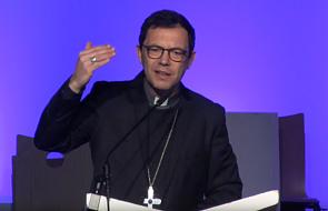 Francuski biskup na Synodzie: brońmy dzieci, a nie instytucji