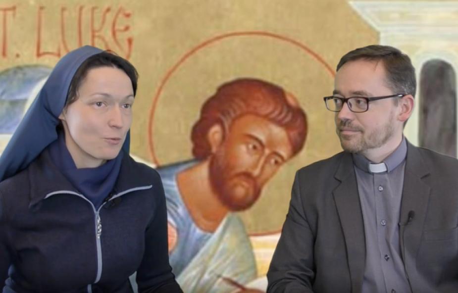 Jak powstała Ewangelia wg św. Łukasza? Jezuita i uczennica Boskiego Mistrza opowiedzą Ci o tym krok po kroku
