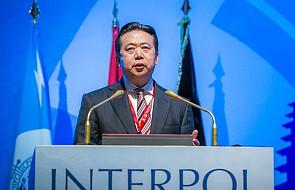 Władze Chin: były szef Interpolu podejrzany o korupcję