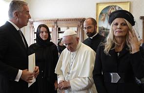 Papież: spotkanie z prezydentem Czarnogóry