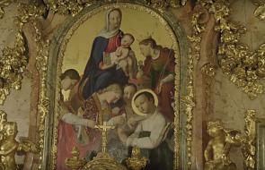 W tym miejscu świętemu Stanisławowi Kostce objawiła się Matka Boża