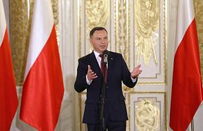 Prezydent: pod biało-czerwonym sztandarem jest miejsce dla każdego z nas