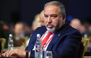 Izrael: minister obrony Lieberman składa dymisję po rozejmie w Strefie Gazy. Możliwe nowe wybory
