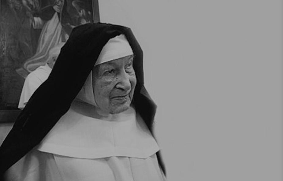 Zmarła s. Cecylia Maria Roszak - najstarsza zakonnica na świecie; mieszkała w Krakowie