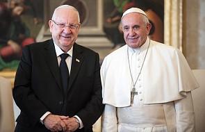 Prezydent Izraela osobiście podziękował papieżowi w imieniu całej społeczności żydowskiej