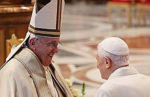 Franciszek o Benedykcie: z pełną świadomością i odwagą patrzy na problemy naszych czasów