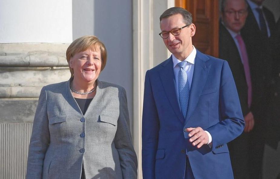 Rozpoczęła się wizyta w Warszawie kanclerz Niemiec Angeli Merkel