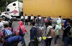 UNICEF: w karawanie uchodźców przemierzającej Meksyk jest ok. 2 300 dzieci