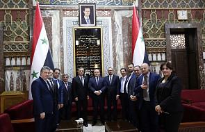 Schetyna: spotkanie posła Kukiz'15 z prezydentem Syrii szkodzi obrazowi polskiego parlamentu
