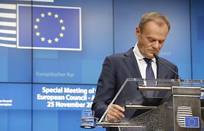 Tusk potępił użycie przez Rosję siły w Cieśninie Kerczeńskiej