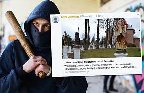 Nieznani sprawcy doszczętnie zniszczyli ufundowane przez parafian 22 figury świętych