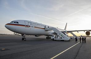 Podróż kanclerz Merkel do Argentyny przerwana z powodu awarii samolotu