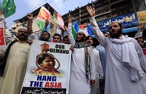 Pakistan: koniec protestów islamistów. Jest zmiana postanowień ws. uniewinnienia Asi Bibi