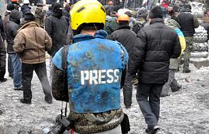 """W 2018 roku doszło do 147 ataków na ukraińskich dziennikarzy. """"To najbardziej śliska i nieprzyjemna sprawa"""""""