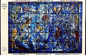 Niemcy: witraż Chagalla motywem znaczka pocztowego na Boże Narodzenie