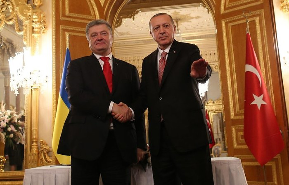 Prezydent Ukrainy złożył wizytę w Turcji. Spotkał się z patriarchąBartłomiejem i Tatarami krymskimi