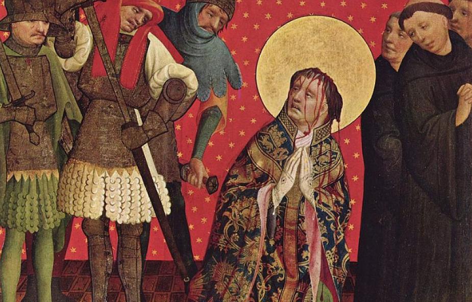 Wielka Brytania: zakrwawiona tunika św. Tomasza Becketa wróci do Canterbury