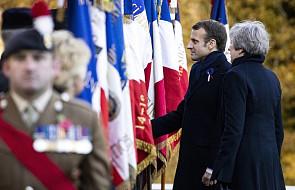 Francja: Macron i May oddali hołd żołnierzom poległym nad Sommą