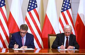 Porozumienie między Polską i USA o strategicznym dialogu w obszarze energii