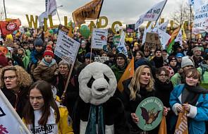 """Berlin: demonstracja tysięcy przeciwników energii węglowej. """"Przyszłość jest wolna od węgla"""""""
