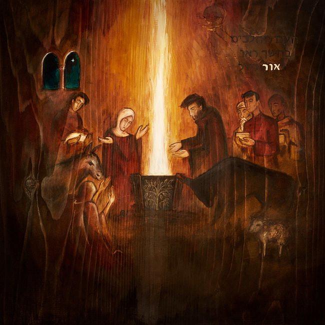 Poruszający obraz młodego jezuity ukazujący tajemnicę Wcielenia - zdjęcie w treści artykułu
