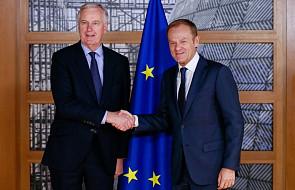 """Tusk: na szczycie UE """"27"""" wysłucha May i przyjmie konkluzje ws. Brexitu"""
