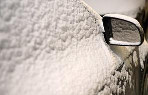 GDDKiA: utrudnienia związane z opadami śniegu i deszczu w 8 województwach