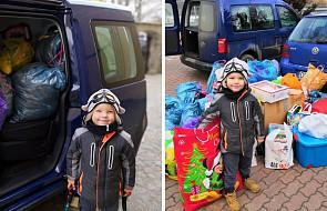 Mariuszek ma cztery lata. Stworzył wyjątkową akcję na święta