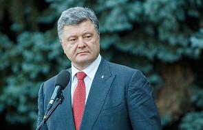 """Petro Poroszenko skomentował """"histeryczną"""" reakcję Rosji na tomos o autokefalii"""