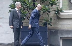 Belgia: król przyjął rezygnację szefa rządu. Monarcha nie przyjął jej od razu