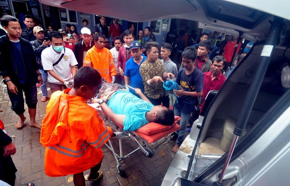 Indonezja: 168 ofiar śmiertelnych, 745 rannych w wyniku tsunami