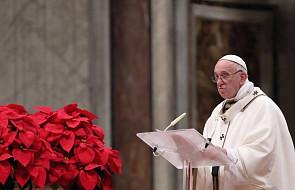 Franciszek zachęca do powierzenia się Bogu i przebaczania prześladowcom