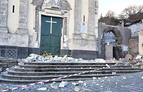 Trzęsienie ziemi na Sycylii częściowo uszkodziło kościół i pomnik świętego patrona przeciw wulkanom