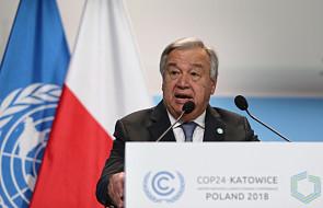 Sekretarz generalny ONZ: musimy wyeliminować dopłaty do paliw kopalnych