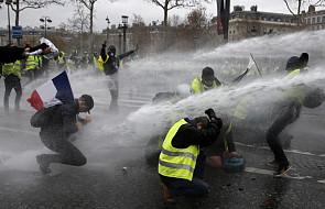 """Francja: rachunek strat po zamieszkach """"żółtych kamizelek"""" w Paryżu"""