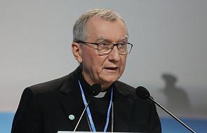Kard. Parolin w Katowicach: zmiana klimatu to także kwestia moralna, a nie tylko techniczna. Mówił o trzech filarach