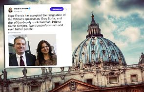Watykan: papież przyjął dymisję kierownictwa Biura Prasowego Stolicy Apostolskiej
