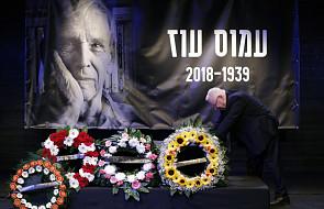 Izrael: pożegnanie Amosa Oza