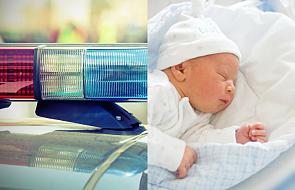 """Policja pomogła im dojechać na porodówkę. """"Życie dziecka było poważnie zagrożone"""""""