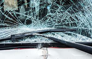 Dolnośląskie: jedna osoba nie żyje, 15 rannych w wypadku autokaru na S3