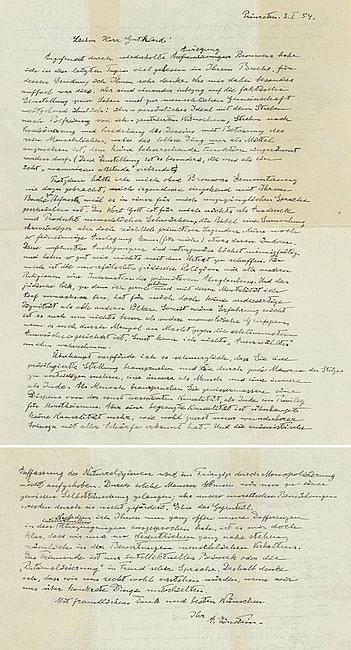 Jeden ze swoich listów Albert Einstein napisał o Bogu. Właśnie sprzedano go za rekordową sumę - zdjęcie w treści artykułu