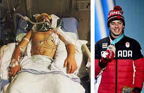 11 miesięcy temu leżał połamany w szpitalu i chciał zrezygnować ze sportu. Wczoraj zdobył medal!