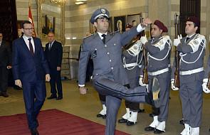 Liban: premier Morawiecki spotkał się z premierem Haririm w Bejrucie