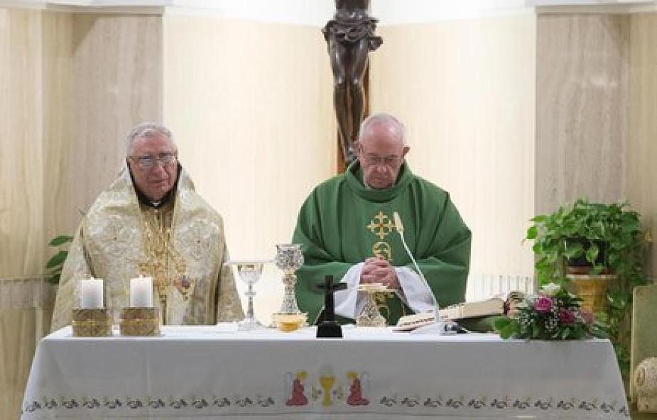 Papież Franciszek przypomniał znaczenie wyznania wiary i modlitwy wiernych [DOKUMENTACJA]