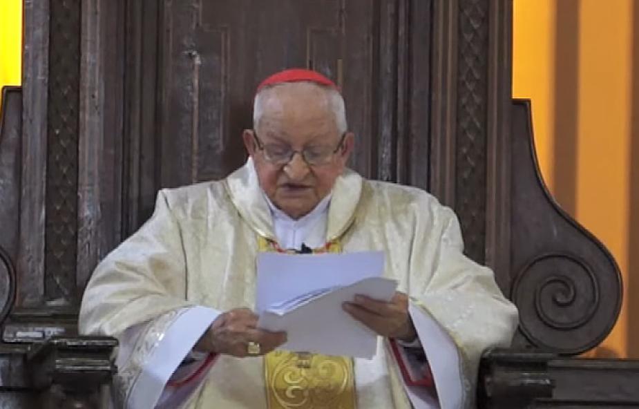 Najstarszy kardynał świata obchodzi w niedzielę 99. urodziny