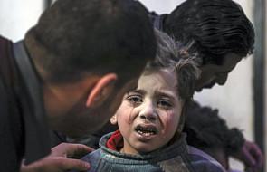 W nalotach syryjskich sił rządowych na Wschodnią Gutę zginęło 100 cywilów